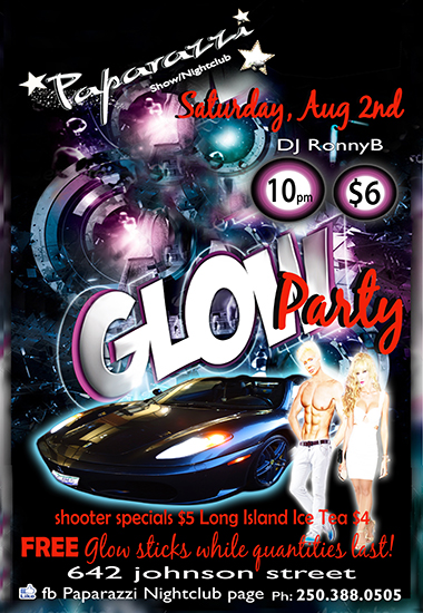 Paparazzi Nightclub present ~ GLOW NIGHT
